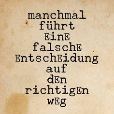 manchmal Mehr Faith Quotes, Words Quotes, Life Quotes, Sayings, German Quotes, German Words, Perfect Word, Different Quotes, True Words