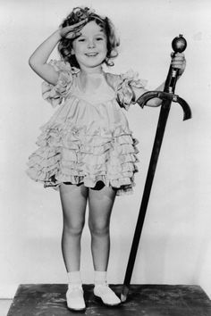 Shirley Temple's Life In Pictures - 1933 - Shirley Temple in one of her earliest roles as 'Little Miss Marker' in 1933 at the early age of 5.