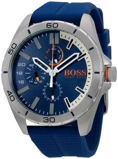 289076efca2 HUGO BOSS ORANGE BLUE RUBBER 48MM 1513291 Relojes Hugo Boss