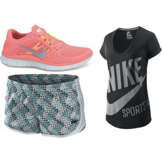 my kind of running outfit :), created by basketcutie on Polyvore