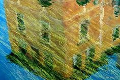 **love the Van Gogh effect** Reeds and Reflection by Jay Maisel