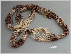 Zuzzi Design - could you do this with bead crochet tubes?