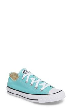 CONVERSE CHUCK TAYLOR ALL STAR SEASONAL OX LOW TOP SNEAKER. #converse #shoes #