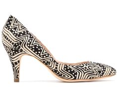 Luv this print!  Loeffler Randall x Tucker Collaboration - Spring 2013 Collaboration - ELLE