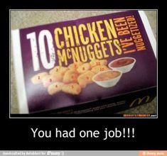 You had one job - http://www.jokideo.com/