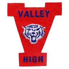 #vintage #sportpatch #patch #embroidery #champs #valleyhigh #letterman #varsity…