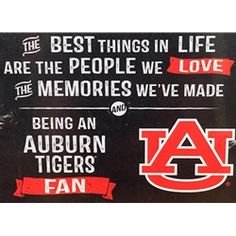 Auburn Best Things home decor. Officially Licensed auburnloveitshowit.com