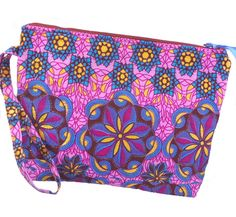 African Wax Print Clutch by AprilNineDesigns on Etsy