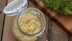 Super Sauerkraut: How to Use 2 Ingredients to Reverse Inflammation, Stop Acid Reflux, and Homemade Sauerkraut, Sauerkraut Recipes, Making Sauerkraut, Sour Cabbage, Green Cabbage, Fermentation Recipes, Eating Raw, Healthy Eating, Eating Well