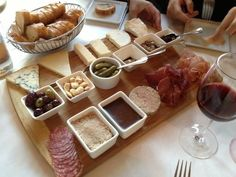 You'd have wine and cheese for every meal