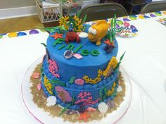 bubble guppies party cake