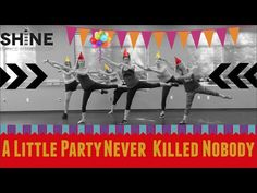 A Little Party Never Killed Nobody by Fergie. SHiNE DANCE FITNESS - YouTube