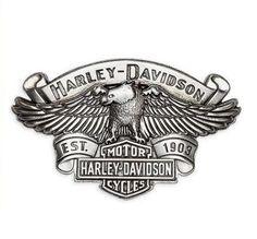 Harley-Davidson Logo Coloring Pages   Simbolo del aguila grabada. Esta hebilla la puedes usar con cualquier ...