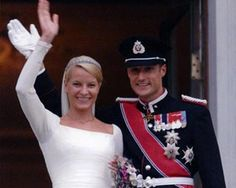 Boda Real de Haakon de Noruega y Mette-Marit