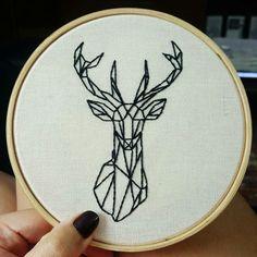 #bordado #embroidery #geometric