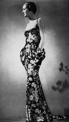 Les Modes (Paris) Fevrier 1936 Robe du Soir par France Vramant