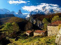 Naranjo de Bulnes o Picu Urriellu, situado en el Macizo Central de los Picos de Europa
