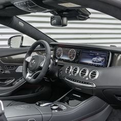 That interior, though. S63 AMG SCoupe Coupe mercedes benz instacar 4MATIC