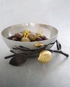 """Lemonwood"" Nut Bowl by Michael Aram at Neiman Marcus."