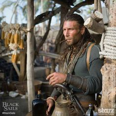 Captain Charles Vane, Black Sails - The original pirate was a man known for his excessive cruelty which even his own crew found hard to stomach.