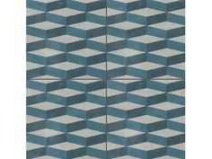 Glazed stoneware wall/floor tiles AZULEJ GRIGIO CUBE AZULEJ Collection by MUTINA | design Patricia Urquiola