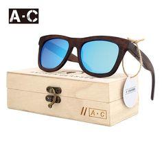 eabfca50b7 Rtbofy Wood Sunglasses Men And Women Bamboo Frame Glasses Handmade Wooden  Eyeglasses Vintage Design …