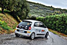 Riccardo Canziani on Renault Twingo R1 With EVO Corse Wheels #sanremocorse #evocorse #wheels #rally #madeinitaly
