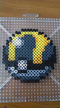 Ultra Ball - Pokemon perler beads