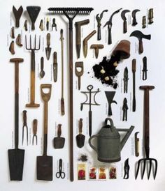 As you grow more and more vegetables you are going to want a nice selection of garden tools.