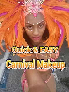 A Quick & Easy Carnival Make-Up look! (Tutorial) Footage taken from Miami Carnival 2013 at Sunlife Stadium. I played mas with DJunction www.DJunctionMas.com ...
