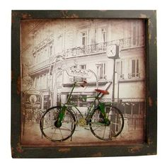 Bicycle Framed Wall Art.