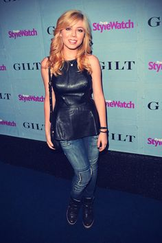 Jennette McCurdy attends People StyleWatch Denim Awards in West Hollywood, September 19, 2013