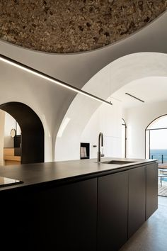 The Old Jaffa House is full of round arches and barrel vaults.