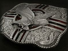 【楽天市場】バックル/Belt Buckle/USA/イーグル/Eagle/Western Scroll/Siskyou Buckle/Gettysburg/Biker Buckle:ワイルドハーツ