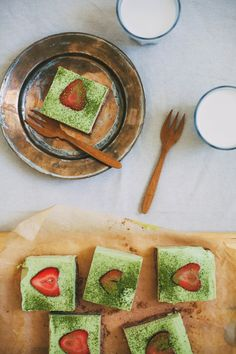 Matcha Lime Bars