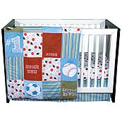 Little MVP 3 Piece Crib Bedding Set