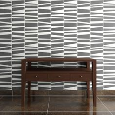 Willoughby Wallpaper    Sold in 4-foot wide rolls  Easy to clean  Made in America  Measuring and installation information (pops up)  Starts at: $112.00