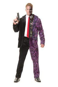 Mens Split Personality Halloween Costume « Clothing Impulse