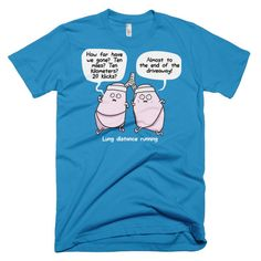 """""""Lung Distance"""" Unisex American Apparel T-Shirts"""