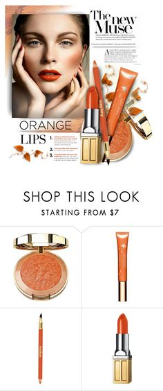 """""""Autumn Beauty - New Contest in Creative Beauty Group"""" by kiki-bi ❤ liked on Polyvore featuring beauty, Milani, Clarins, Sisley, Elizabeth Arden, orangecrush and beautyset"""