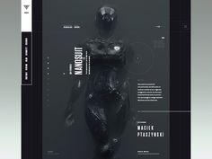 AKIRA - website ( 2099 ) teaser designed by Viktor Vörös. Website Design Layout, Website Design Inspiration, Web Layout, Layout Design, Web Banner Design, Banner Printing, Graphic Design Typography, Design Development, Presentation Design