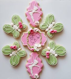 """""""All the world is made of faith, and trust, and pixie dust."""" - J.M. Barrie. #cookies #cookiesofinstagram #sugarcookies…"""