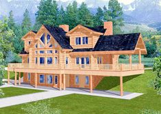 Lake house floor plans with walkout basement house plans — amazing Minecraft Mods, Cute Minecraft Houses, Minecraft Houses Blueprints, Minecraft House Designs, House Blueprints, Minecraft Log Cabin, Minecraft Crafts, Minecraft Farm House, Minecraft Skins