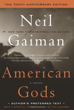 American Gods: The Tenth Anniversary Edition: A Novel by Neil Gaiman http://www.amazon.com/dp/0062059882/ref=cm_sw_r_pi_dp_QoYUub0S220J3