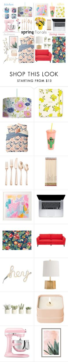 """""""Make Your Home Bloom 19-3-2017"""" by anamarija00 ❤ liked on Polyvore featuring interior, interiors, interior design, home, home decor, interior decorating, Bluebellgray, Kate Spade, Nordstrom Rack and Sunnylife"""