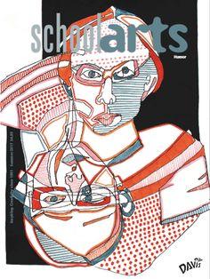 SchoolArts Magazine, Summer 2017, Humor. Art education magazine for K-12 art educators. #ArtEducation #ArtsEd