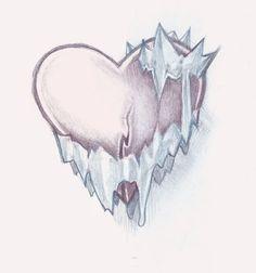 sad tattoo designs | Ice Heart Tattoo by timmok