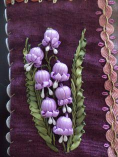 Ribbon embroidery from Natalia Gudin's website (Russian)
