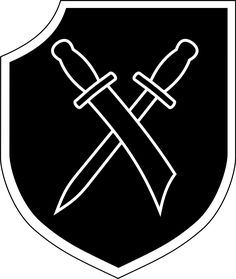 Insignia of the SS Volunteer Grenadier Division Wallonien Division, Logo Google, Etat Major, German People, Military Insignia, The Third Reich, Military History, World War Two, Wwii