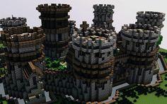 Old Castle Minecraft World Save